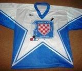 KHL ZAGREB- MATCH WORN VINTAGE HOKEJASKI DRES- RIJETKO