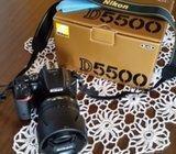 Nikon D5500 + Nikkor 18-105 mm