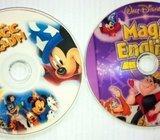 DVD Walt Disney - MAGIC ENGLISH