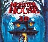 MONSTER HOUSE - KUĆA MONSTRUM 3D/2D blu ray NOVO!