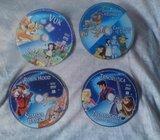 Najljepse bajke svijeta - crtani filmovi DVD 5 komada 50 kn