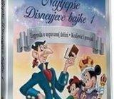 Najljepše Disneyeve bajke 1- DVD