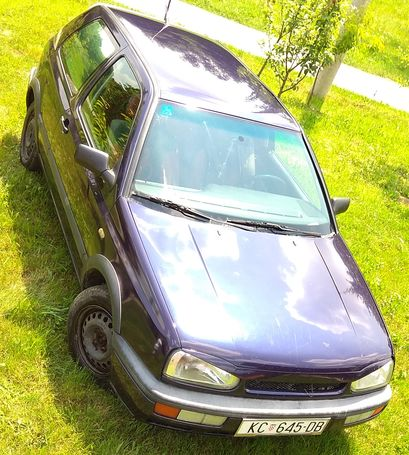 Golf 3 1.6 74 kw 1996 g  reg do 04.05.2019.