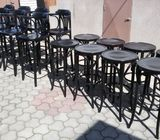 barske drvene stolice
