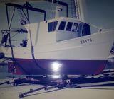 Ribarski brod koću