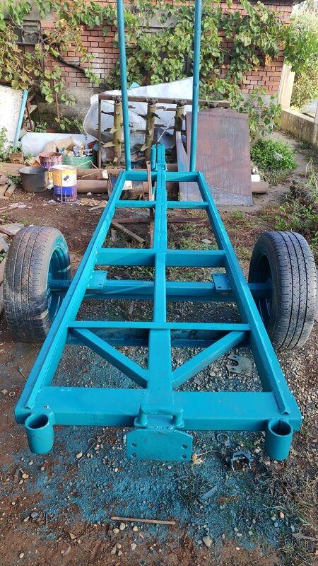 Prikolica za transport drva, duga 3.6m